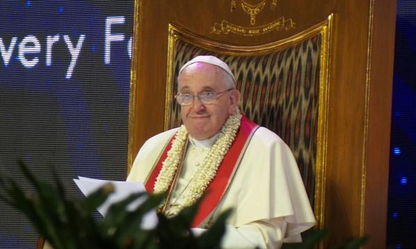 Second day of Pope Francis in the Philippines (3/3)