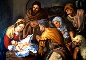 Nativity Murillo Filipino Painting Collado