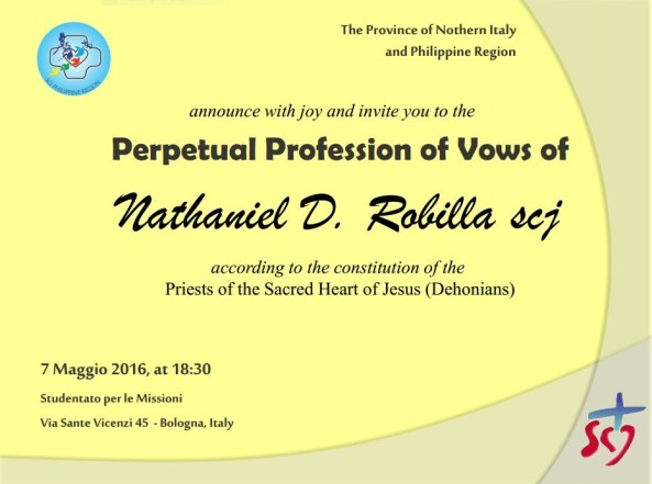 Nathaniel invitation