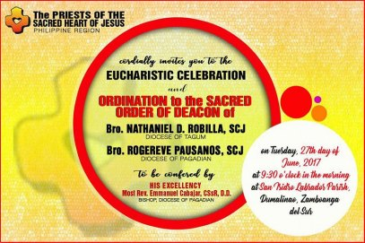 Diaconate Invitation 2017