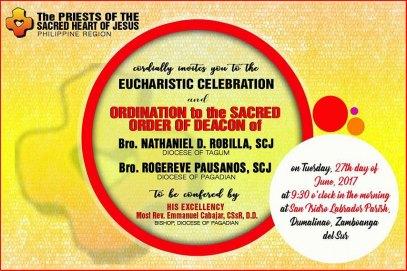 Diaconate Invitation 2017