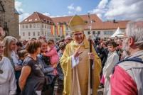 Pater Dr. Heiner Wilmer erhält in einem Festgottesdienst am 01.09.2018 im Dom zu Hildesheim die Bischofsweihe. Foto: Jens Schulze (Nur zur redaktionellen Verwendung - Werbung auf Anfrage!)