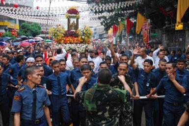 Santo Nino procession